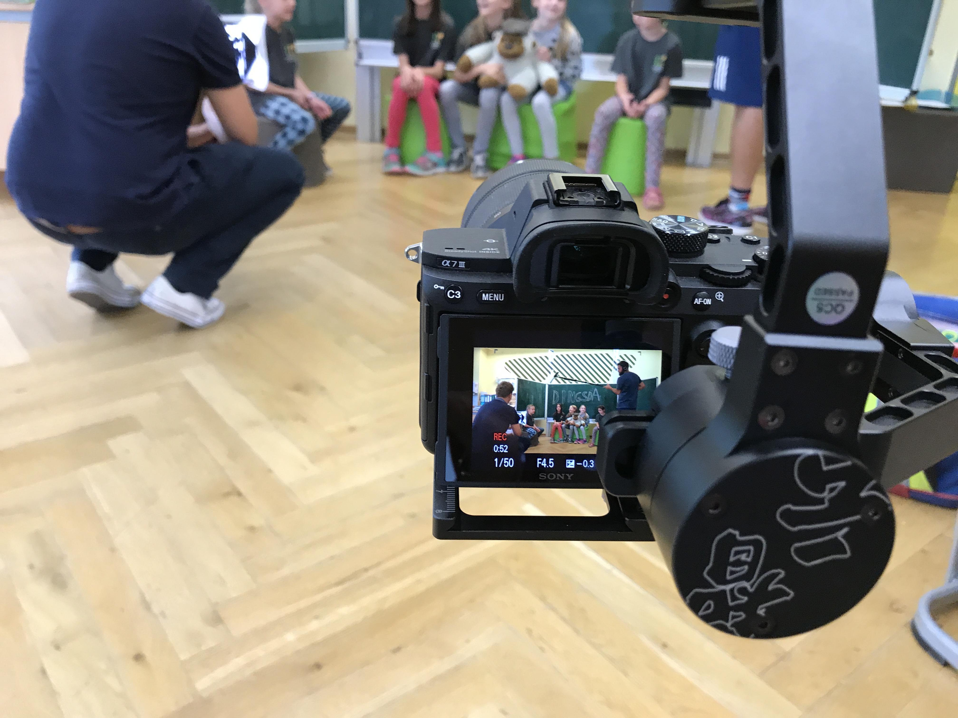 Videoclipdreh mit Volkswagen Immobilien
