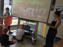 Skypen mit der Joyful Learning School